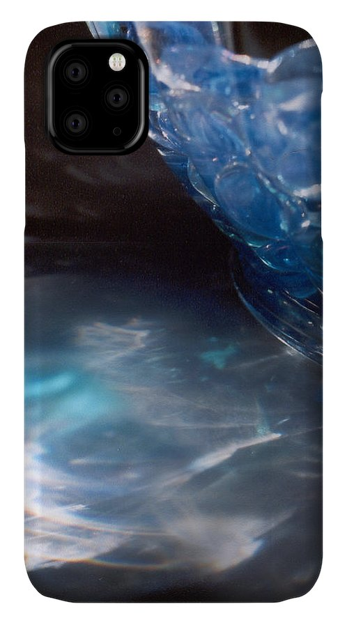 Abstract IPhone Case featuring the photograph Panel one from Swirl by Steve Karol