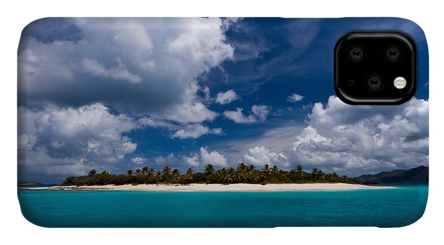 3scape IPhone 11 Case featuring the photograph Paradise Is Sandy Cay by Adam Romanowicz