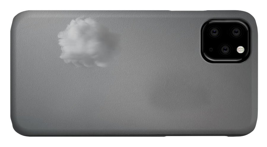 Cloud IPhone Case featuring the photograph Partly Cloudy by Scott Norris