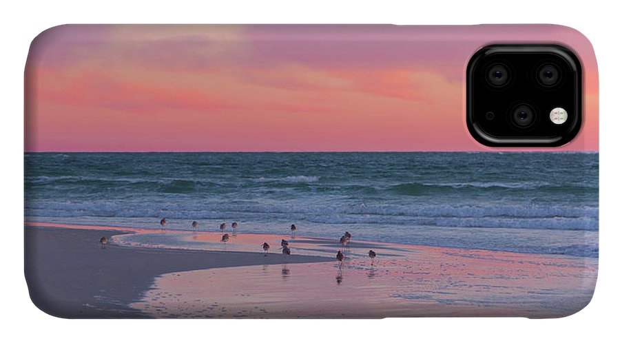 Sunset IPhone Case featuring the photograph Peaceful Witnesses by Betsy Knapp