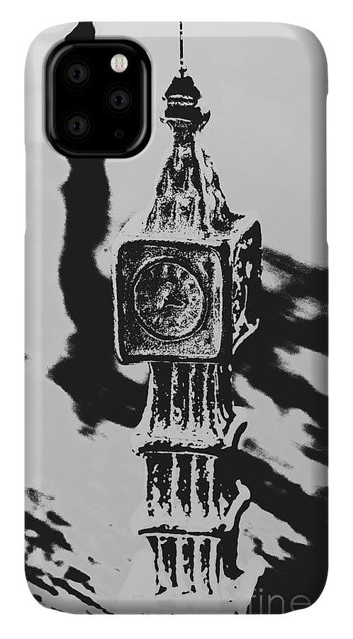 Poster IPhone 11 Case featuring the photograph Postcards From Big Ben by Jorgo Photography - Wall Art Gallery