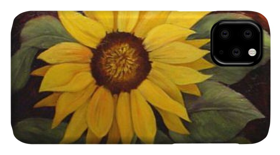Still Life IPhone Case featuring the painting Pure Sunshine SOLD by Susan Dehlinger