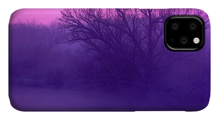Purple IPhone Case featuring the photograph Purple Haze by Bruce Thompson