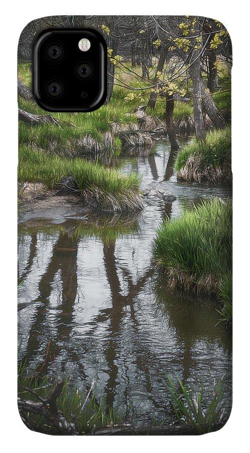 Stream IPhone Case featuring the photograph Quiet Stream by Scott Norris
