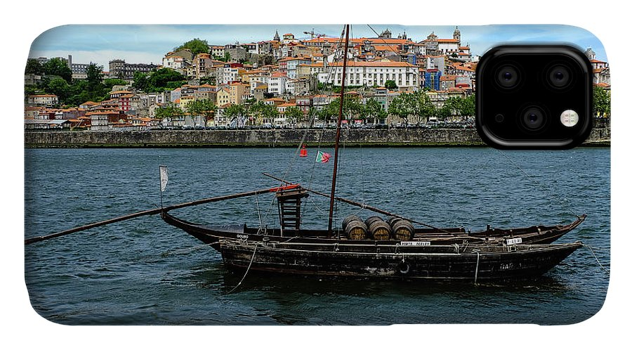 Porto IPhone Case featuring the photograph Rabelo Boat II by Marco Oliveira