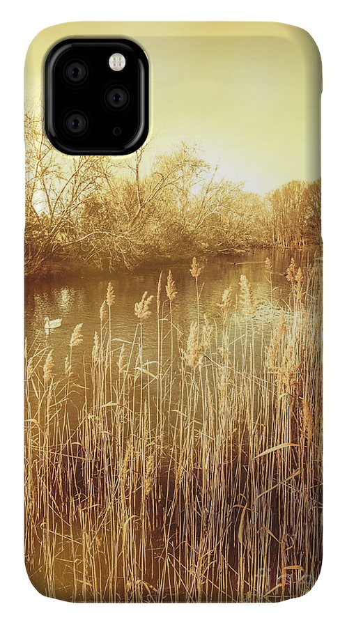 Richmond IPhone Case featuring the photograph Richmond Tasmania Riverscape by Jorgo Photography - Wall Art Gallery