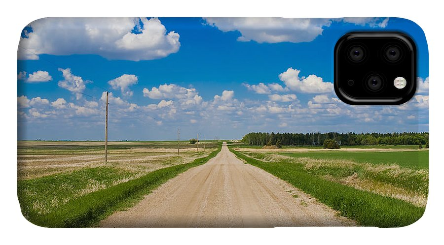 Country Road IPhone Case featuring the photograph Road To Nowhere by Bob Mintie