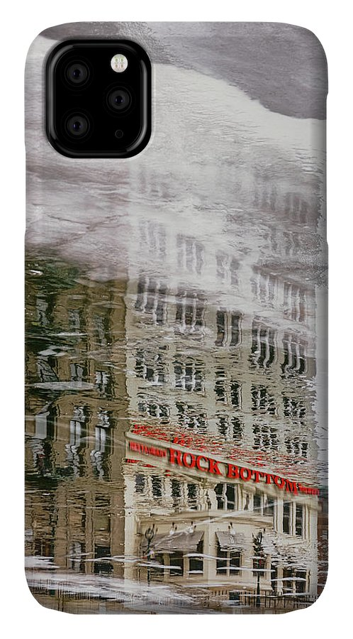 Ice IPhone Case featuring the photograph Rock Bottom by Scott Norris