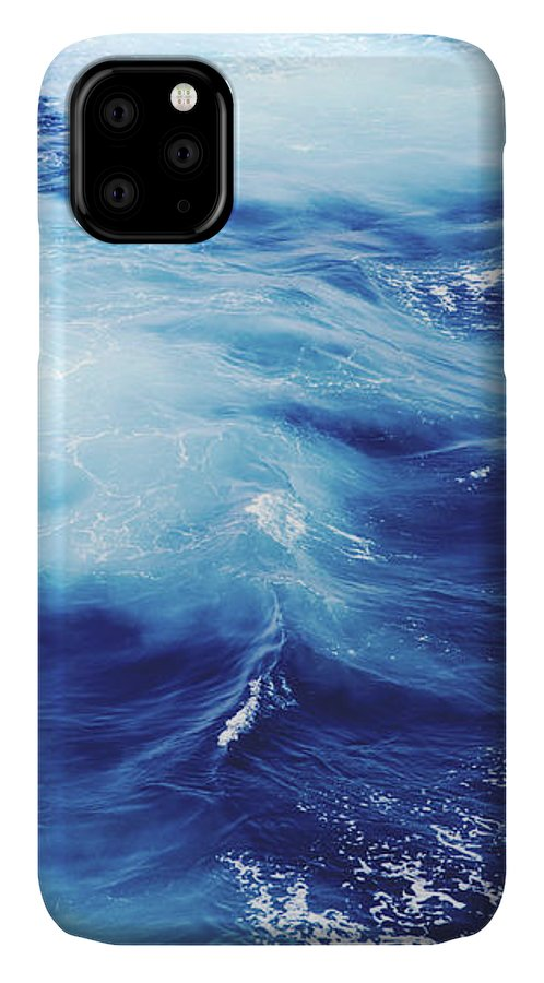 Blue IPhone Case featuring the photograph Royal Blue by Clem Onojeghuo