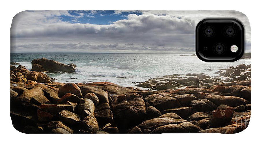 Water IPhone 11 Case featuring the photograph Seascape In Harmony by Jorgo Photography - Wall Art Gallery