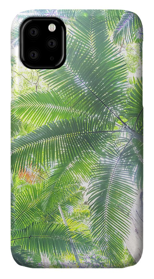 Nature IPhone 11 Case featuring the photograph Shade Of Eden by Az Jackson