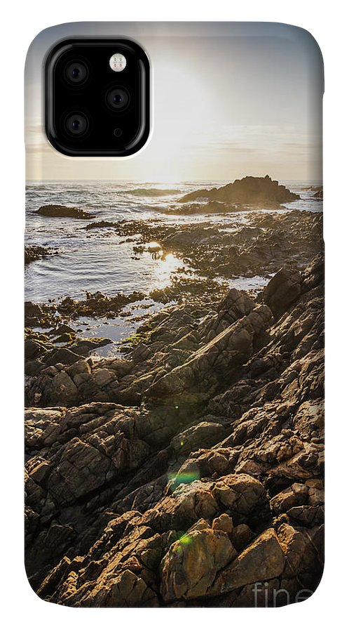 Water IPhone Case featuring the photograph Shore Rays by Jorgo Photography - Wall Art Gallery