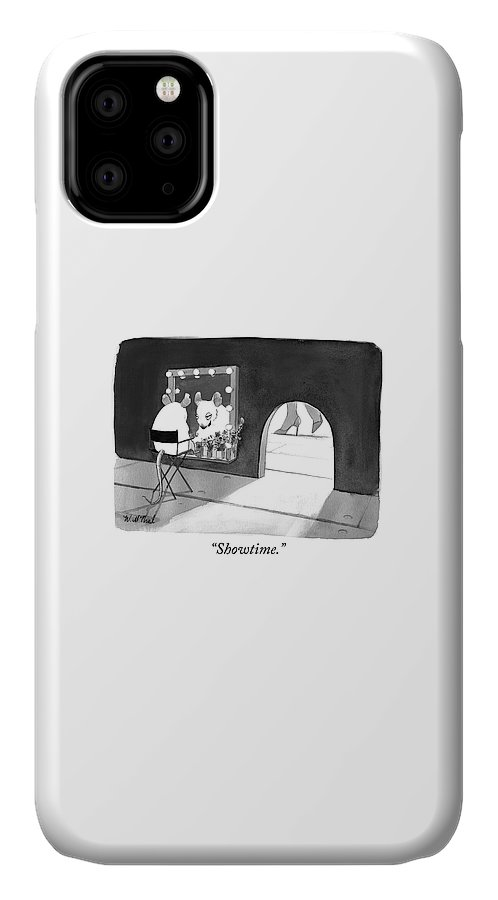 """""""showtime."""" IPhone Case featuring the photograph Showtime by Will McPhail"""