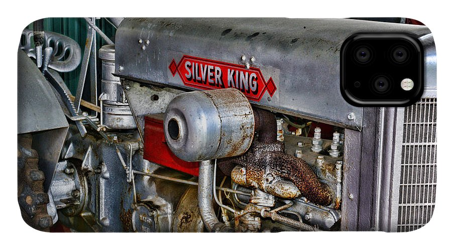 Paul Ward IPhone Case featuring the photograph Silver King Tractor by Paul Ward