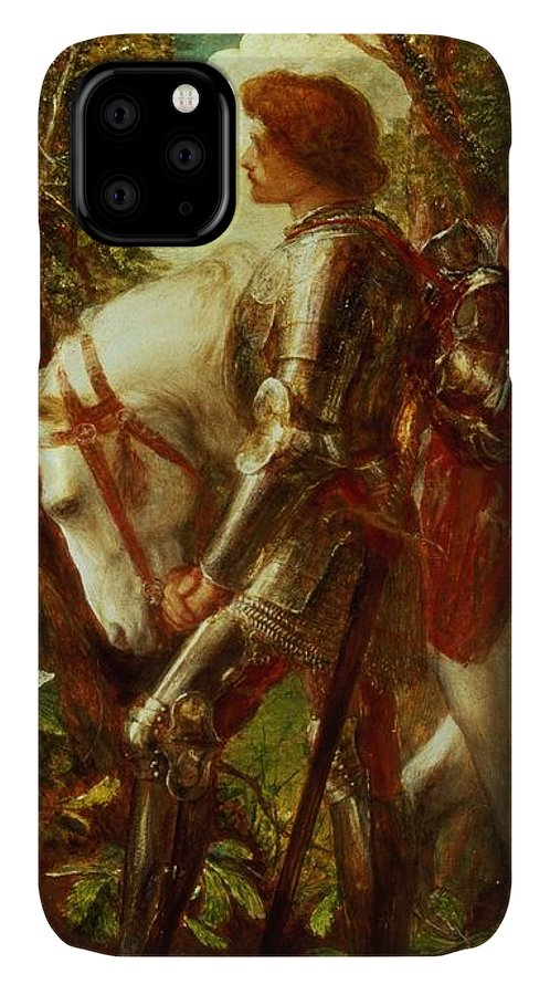 Arthur IPhone Case featuring the painting Sir Galahad by George Frederic Watts