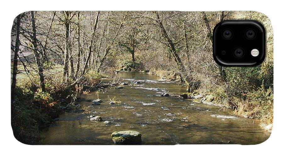 River IPhone Case featuring the photograph Sleepy Creek by Shari Chavira