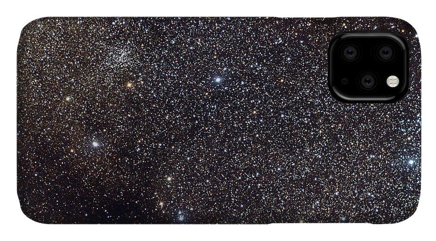 Science IPhone Case featuring the photograph Small Sagittarius Star Cloud, M24, Ic by Vanessa Harvey/REU Program/NOAO/AURA/NSF