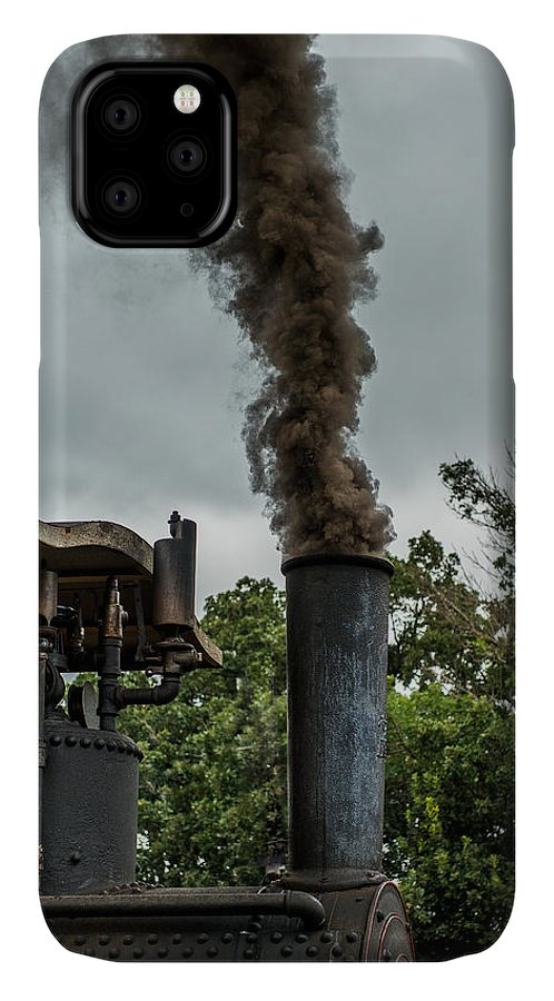 Rumley IPhone Case featuring the photograph Smokin by Paul Freidlund