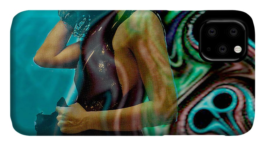 Beautiful Women IPhone Case featuring the digital art Spell of a Woman by Seth Weaver