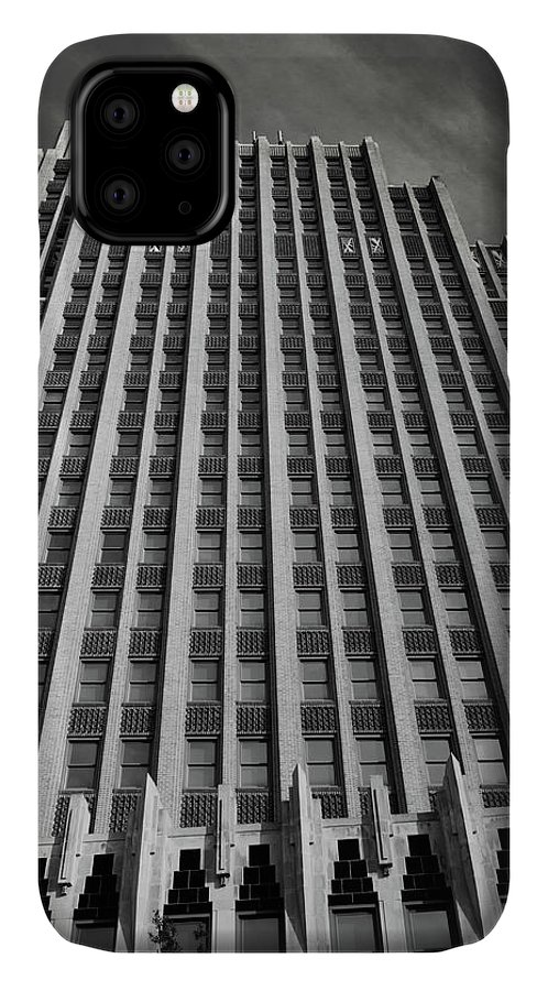 Jackson IPhone Case featuring the photograph Standard Life Building Jackson Ms by Eugene Campbell