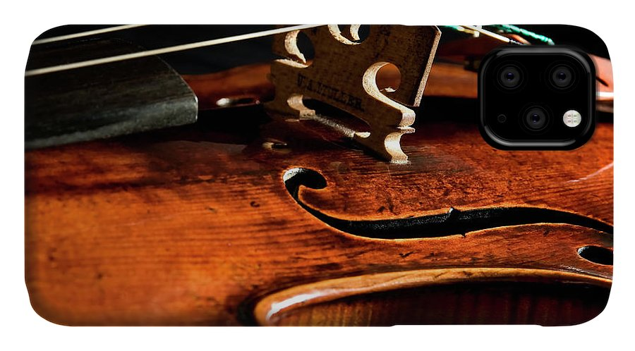 Strad IPhone Case featuring the photograph Stradivarius by Endre Balogh