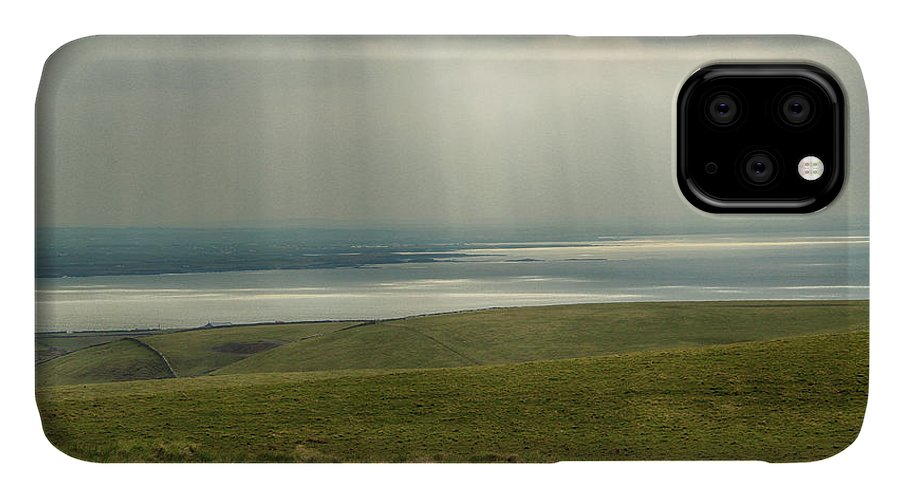 Ireland IPhone Case featuring the photograph Sunlight On The Irish Coast by Marie Leslie