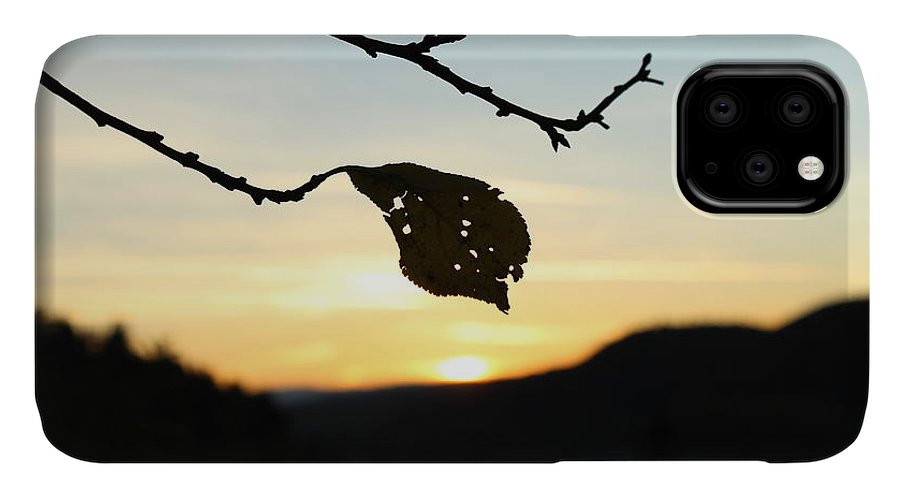 Sunset IPhone 11 Case featuring the photograph Sunset by Alena Madosova