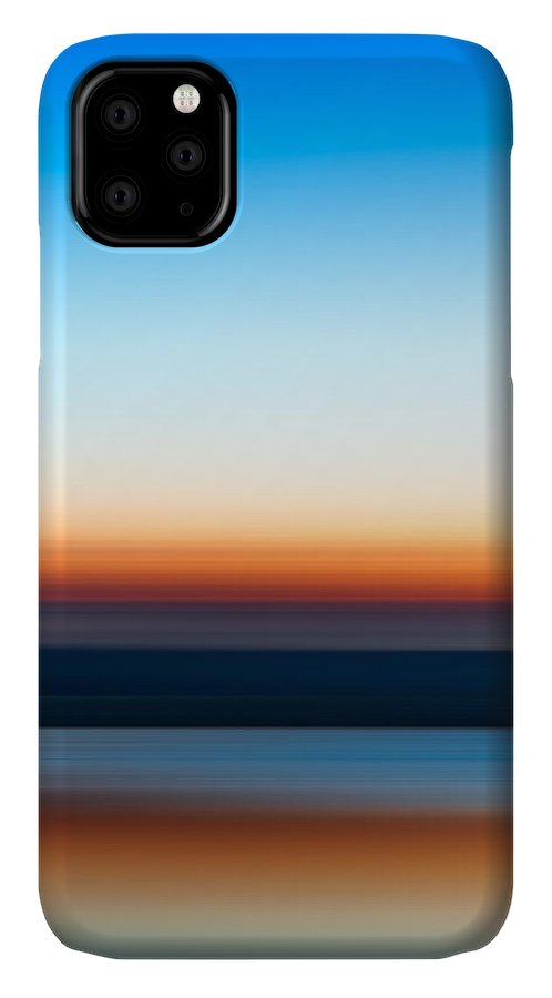 Sunset IPhone Case featuring the photograph Sunset At Ottawa Lake by Scott Norris