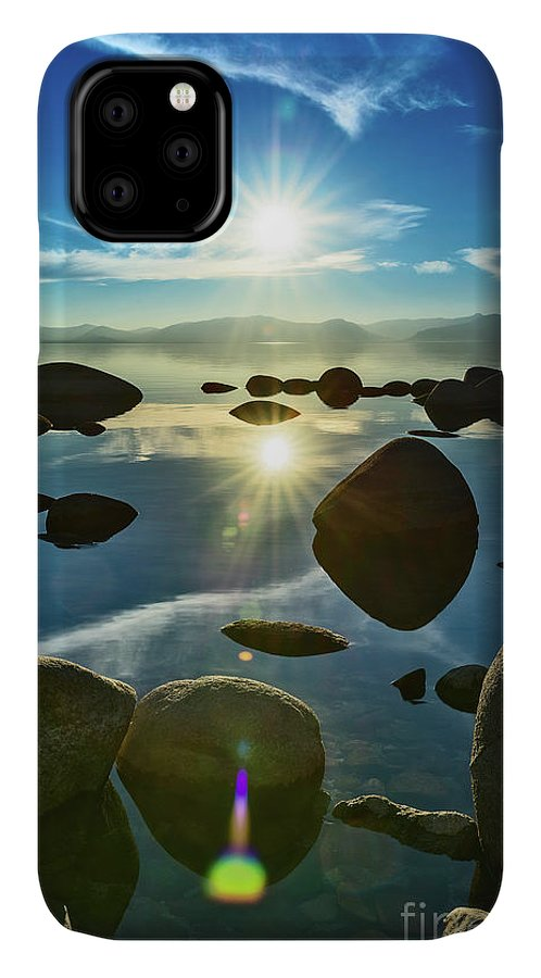 Lake Tahoe IPhone 11 Case featuring the photograph Tahoe Star by Jamie Pham