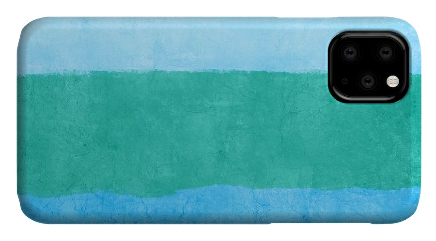 Blue IPhone Case featuring the photograph Test by Linda Woods