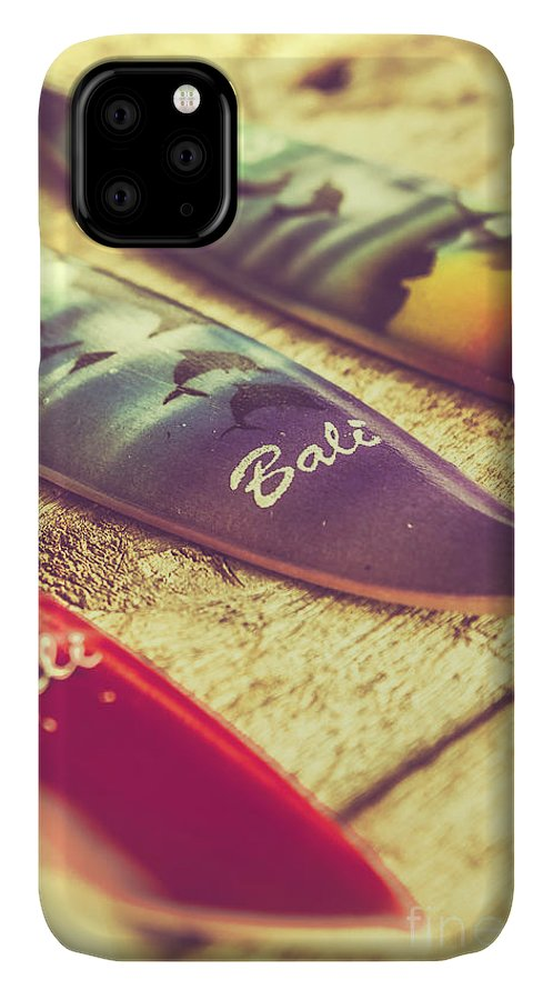 Board IPhone 11 Case featuring the photograph The Art Of Surf by Jorgo Photography - Wall Art Gallery