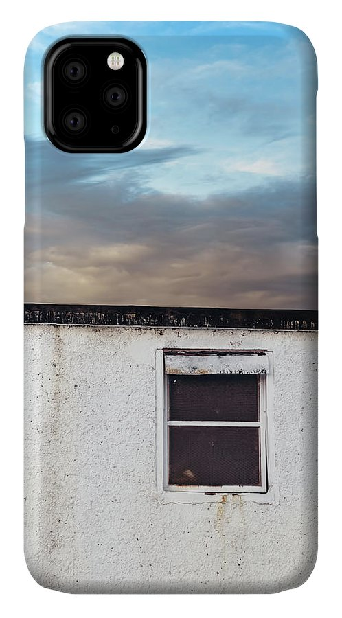 Wall IPhone Case featuring the photograph The Barrier by Scott Norris