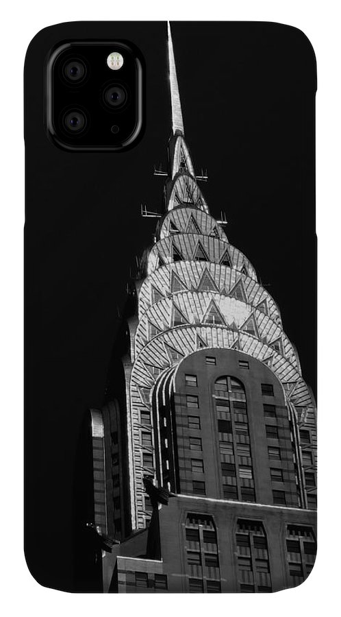 Chrysler Building IPhone Case featuring the photograph The Chrysler Building by Vivienne Gucwa
