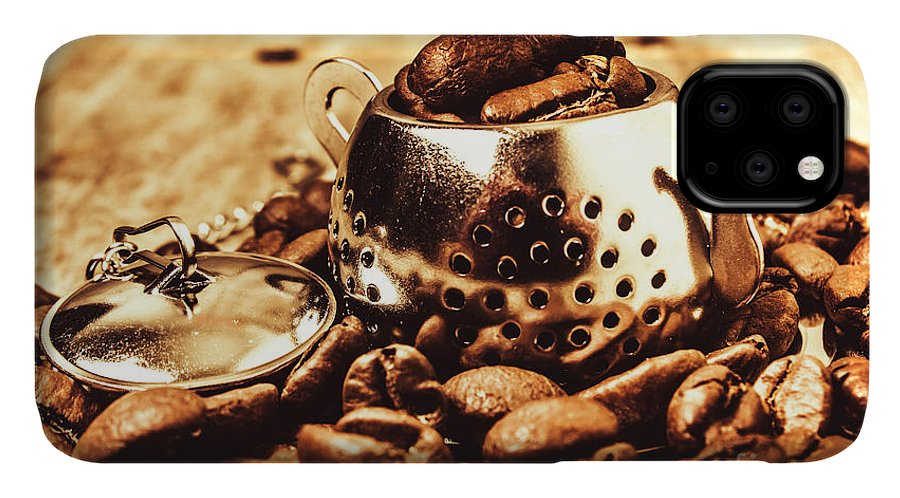 Afternoon Tea IPhone Case featuring the photograph The Coffee Roast by Jorgo Photography - Wall Art Gallery
