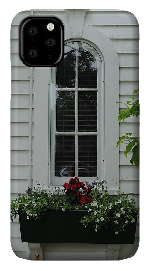 Window IPhone Case featuring the photograph The Curve Window by Jost Houk