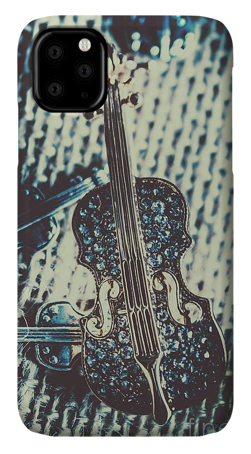 Musical IPhone Case featuring the photograph The Diamond Symphony by Jorgo Photography - Wall Art Gallery