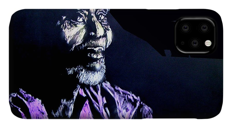 IPhone Case featuring the mixed media The Elder by Chester Elmore