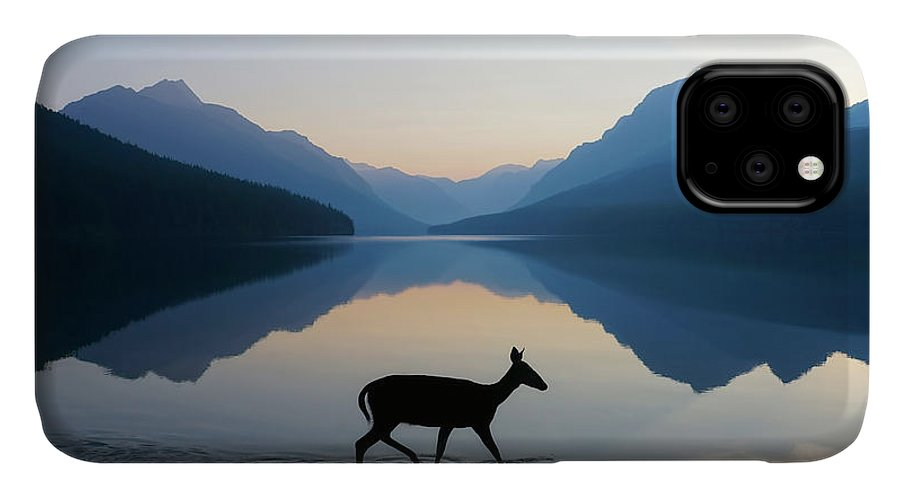 Glacier National Park IPhone 11 Case featuring the photograph The Grace Of Wild Things by Dustin LeFevre