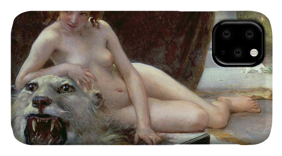 Nude IPhone Case featuring the painting The Jewel Case by Guillaume Seignac