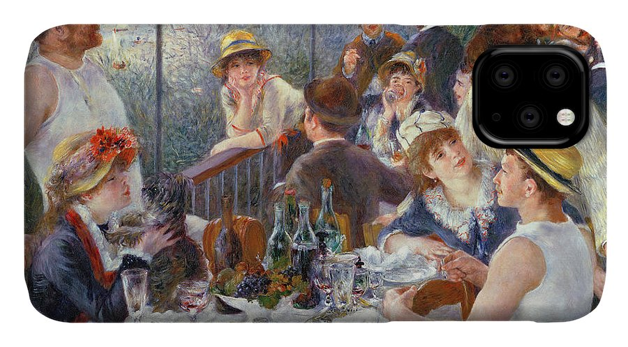 The IPhone Case featuring the painting The Luncheon Of The Boating Party by Pierre Auguste Renoir