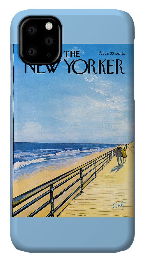 The New Yorker Cover - April 1st, 1967 IPhone Case