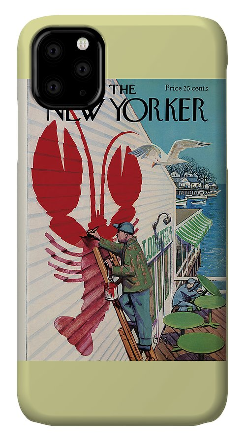 New Yorker March 22, 1958 IPhone Case