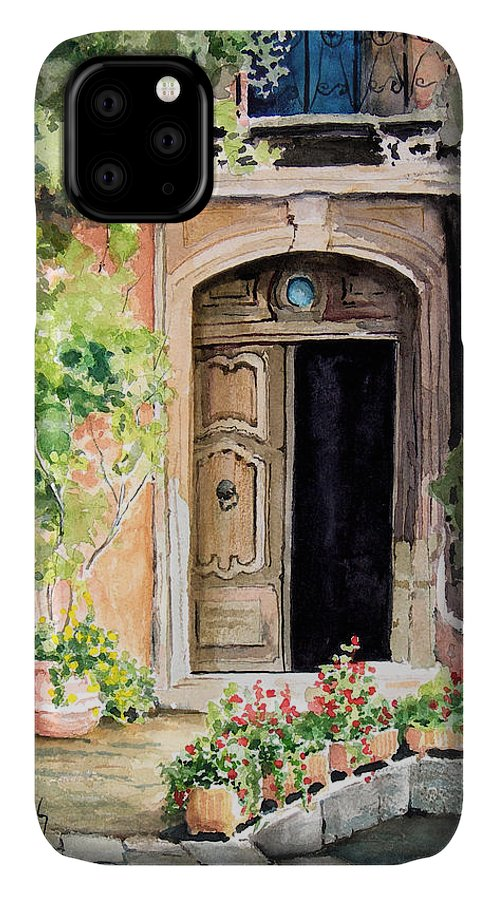 Door IPhone Case featuring the painting The Open Door by Sam Sidders