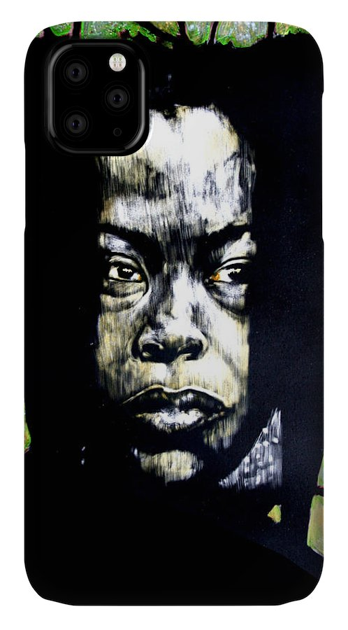 Portraits IPhone Case featuring the mixed media The Promise of Spring by Chester Elmore