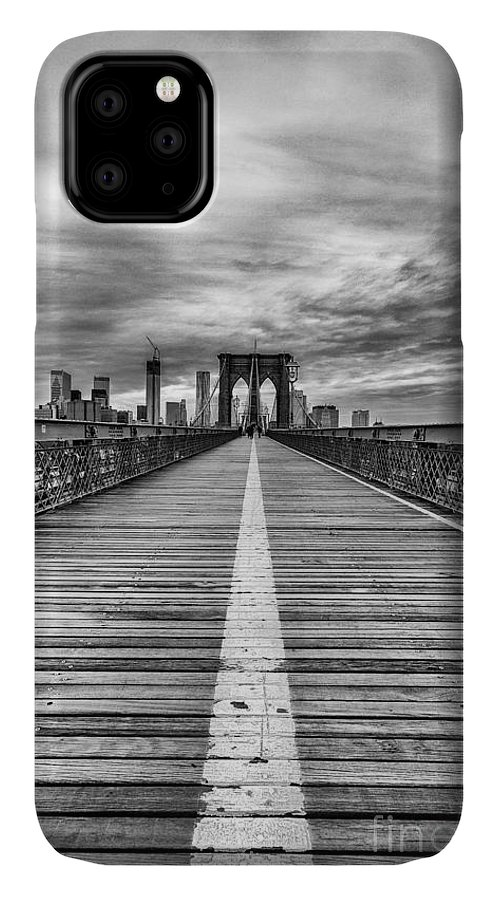 Cities IPhone 11 Case featuring the photograph The Road To Tomorrow by John Farnan