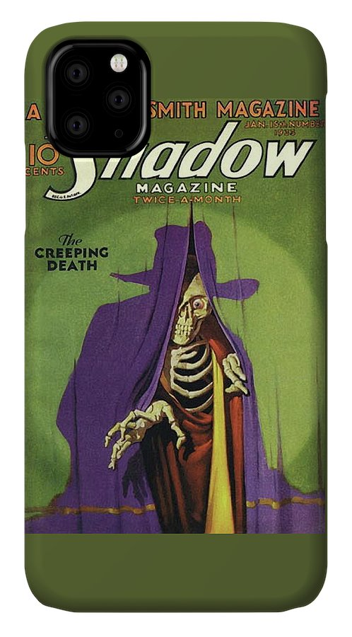 The Shadow The Creeping Death IPhone Case