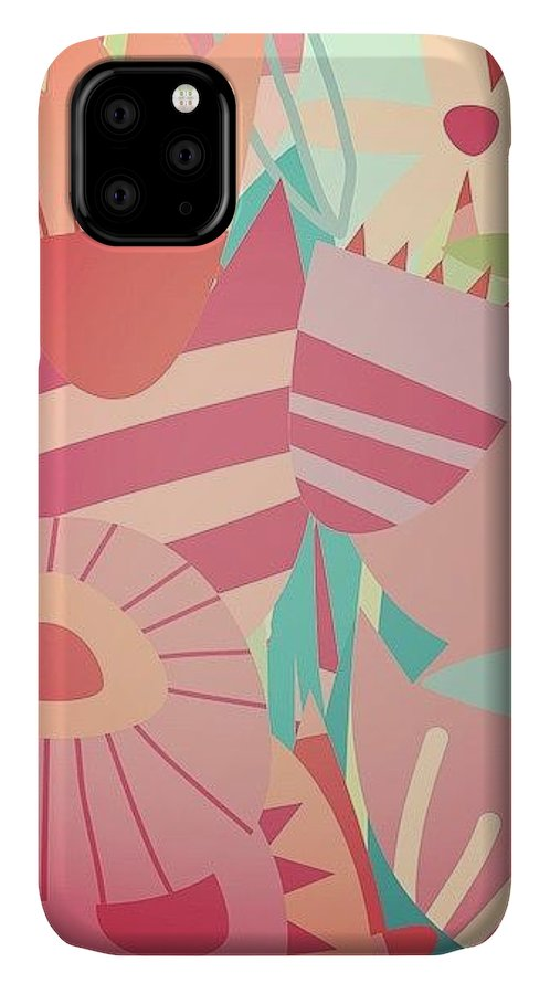 Flower IPhone 11 Case featuring the photograph Magic Flower Mashup by Nic Squirrell