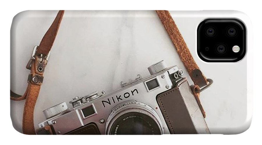 Vintagecamera IPhone Case featuring the photograph Rangefinder by Nancy Ingersoll