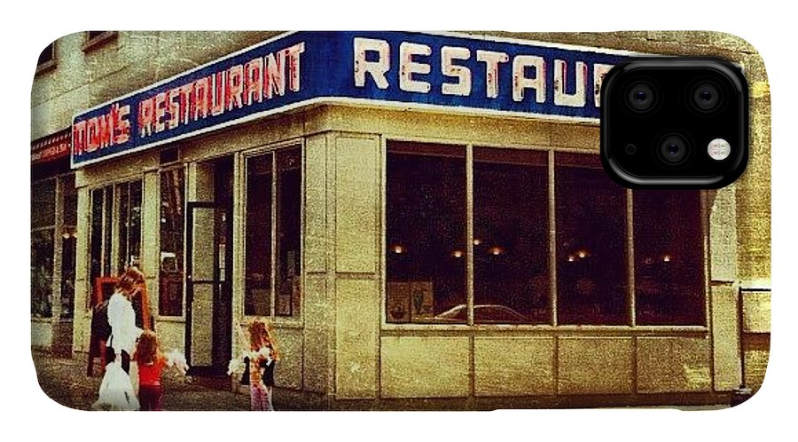 Summer IPhone Case featuring the photograph Tom's Restaurant. #seinfeld by Luke Kingma