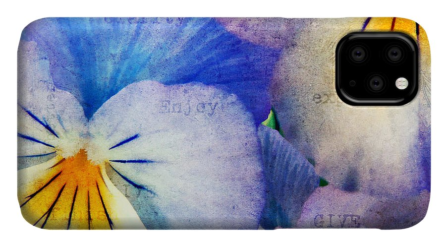 Agriculture IPhone Case featuring the photograph Tones of Blue by Darren Fisher